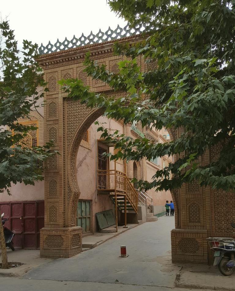 kashgar-architecture-details
