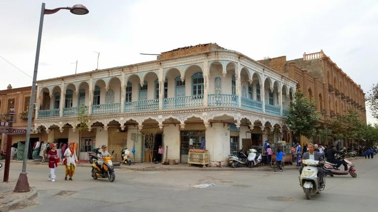 kashgar-architecture